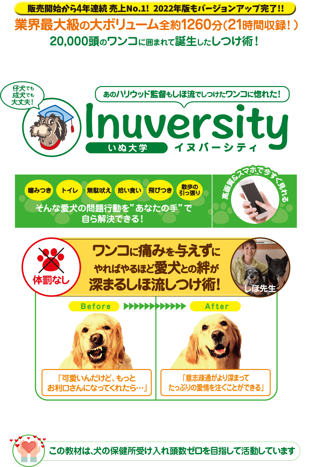 1括~24分割  Inuversity(イヌバーシティ) ~いぬ大学~ 犬のしつけ教材